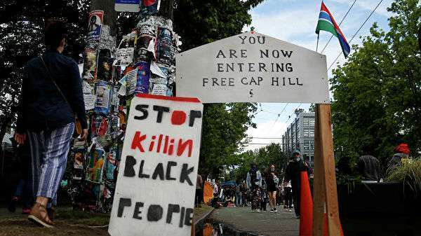 В захваченном протестующими Сиэтле произошла перестрелка