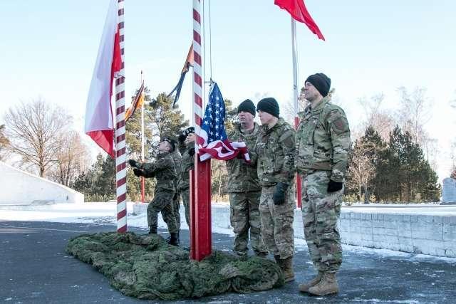 Солдаты США в Польше