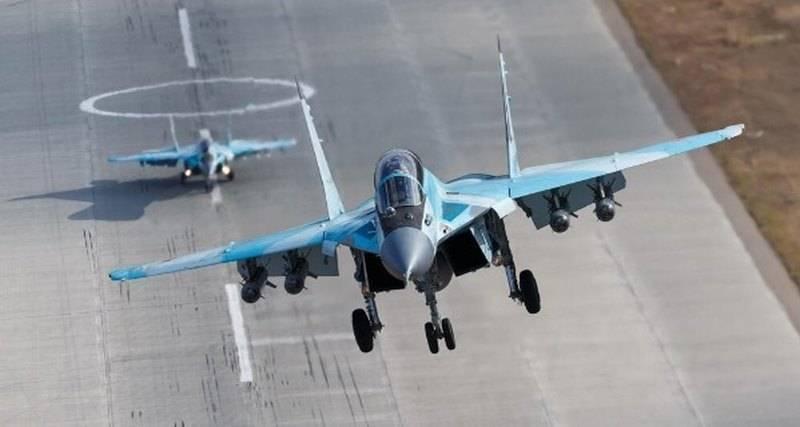 Посадка МиГ-35 в беспилотном режиме. Теперь это запатентовано