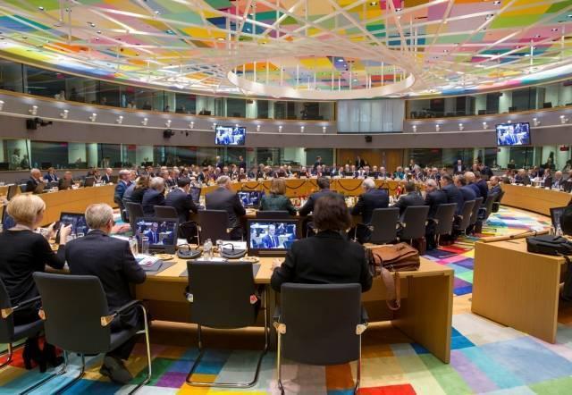 Заседание на саммите «Восточное партнерство» в Брюсселе. 24 ноября 2017