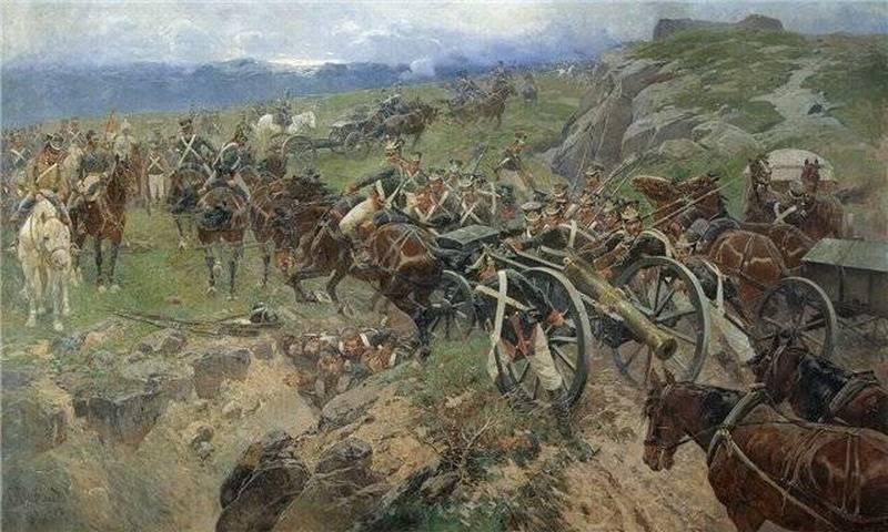 Это не 300 спартанцев, это 500 русских! Золотая страница русской воинской славы