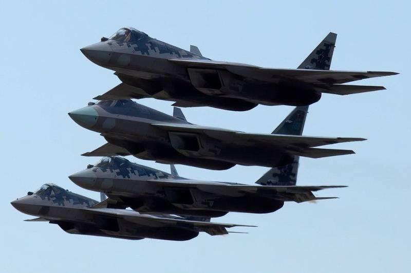 Истребитель Су-57 ожидает модернизация. «Супер-Сухой» взлетит через два года