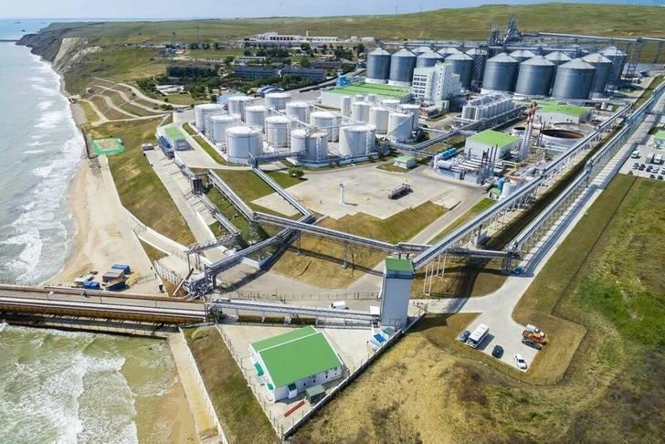 Таманский терминал навалочных сухогрузов готов к приёму балкеров дедвейтом до 220 тысяч тонн