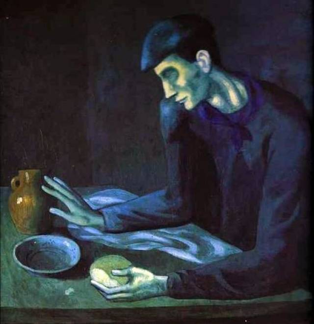 Пабло Пикассо. Зеркало слепого. 1903
