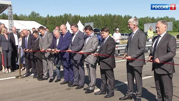 В Подмосковье завершён важный этап строительства Центральной кольцевой автодороги