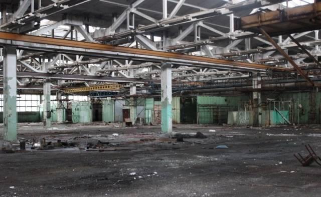 Руины завода Электротехмаш. Вологда