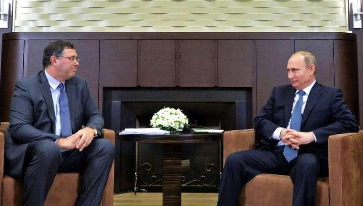 Новый глава Тоtal обещал Путину приумножить деловые связи с Россией