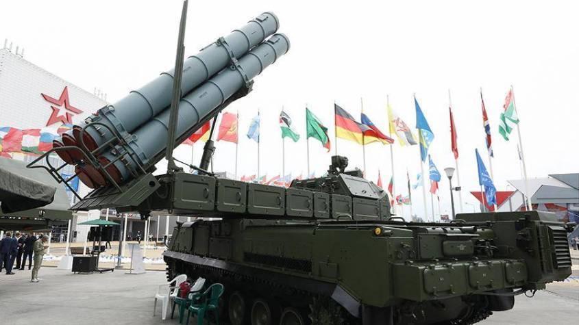 «Зенитные роботы» ЗРК «Бук-М3» усилят Южный военный округ