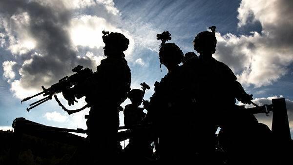 Военнослужащие армии США во время совместных учений войск НАТО Swift Response в Германии