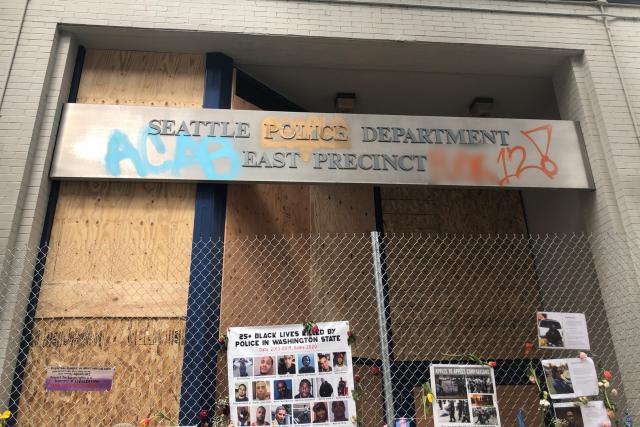 Полицейский участок в Сиэтле