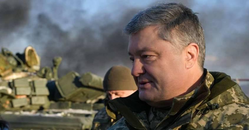 Преступник Порошенко заявил, что гордится своим приказом бомбить Донбасс