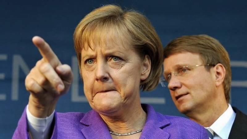 Германия во главе Совета ЕС сделает всё, чтобы настроить Европу против США