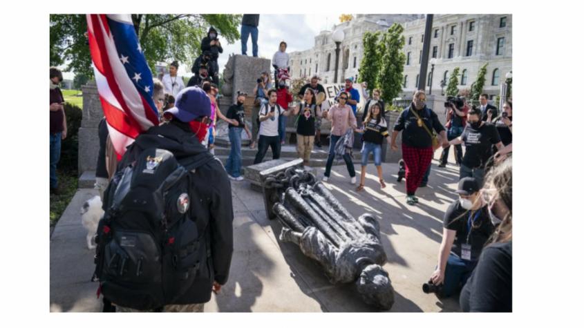 Гражданская война в США 2.0: Раскол двух Америк – как трещина превращается в каньон