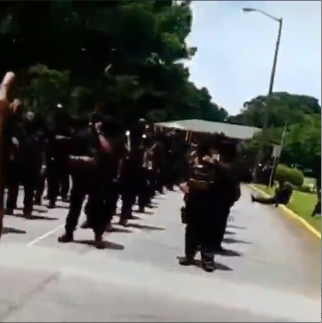 Гражданская война: в США «Чёрные пантеры» объявили «войну рас»