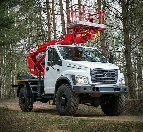 Российский завод автоспецтехники выпустил новые модели автовышек на шасси ГАЗель NEXT и УРАЛ Next