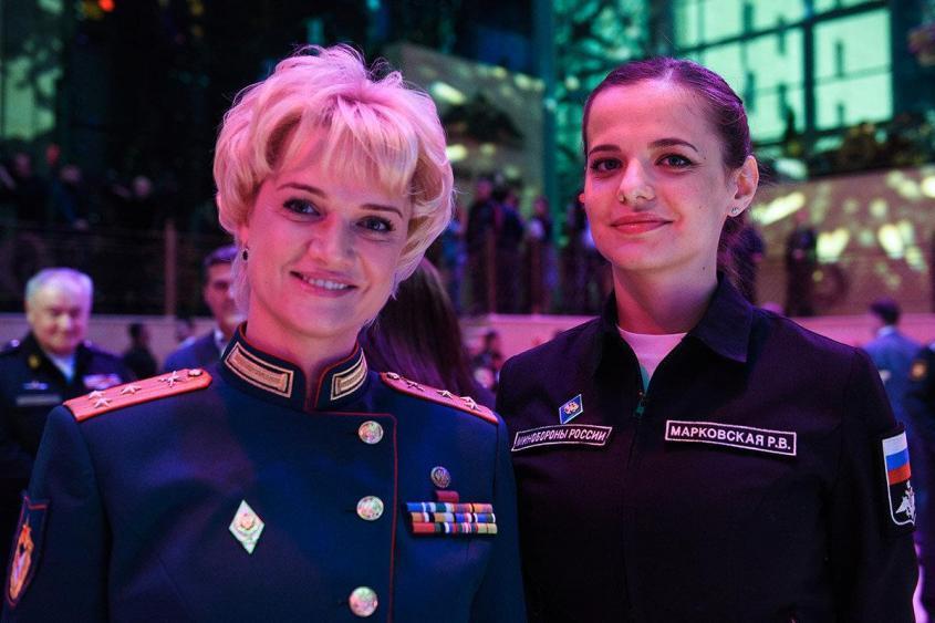 Очарование российской армии: Хоркина и Марковская. Полковник и больше чем полковник.