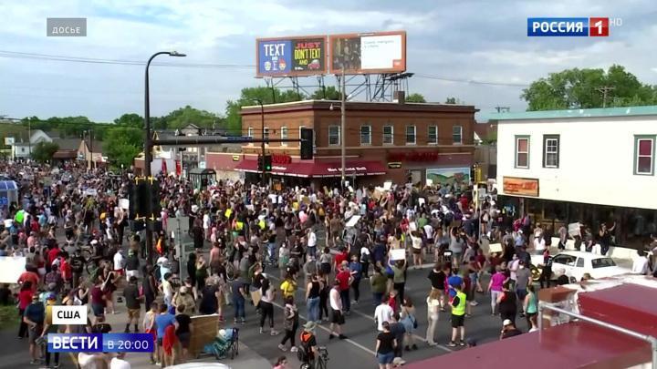 Протесты в США переросли в кровавые будни, полиция боится вмешиваться