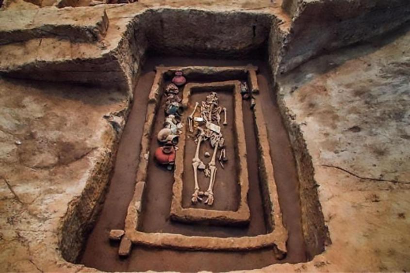В Китае нашли кладбище великанов, захороненных около 5000 лет назад