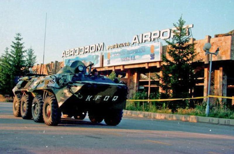 Как один российский БТР остановил танковую колонну НАТО: «Скажешь ещё слово, здесь и ляжешь»