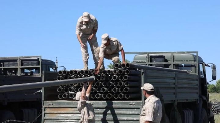 Российские военные проложили 50 км трубопровода между двумя водохранилищами в Крыму