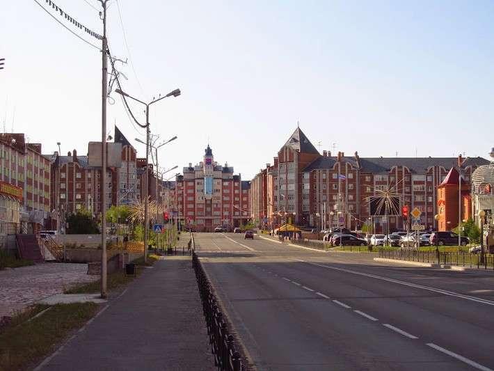 Салехард, город на Полярном круге