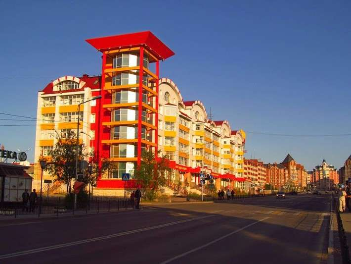 Салехард, город на Полярном