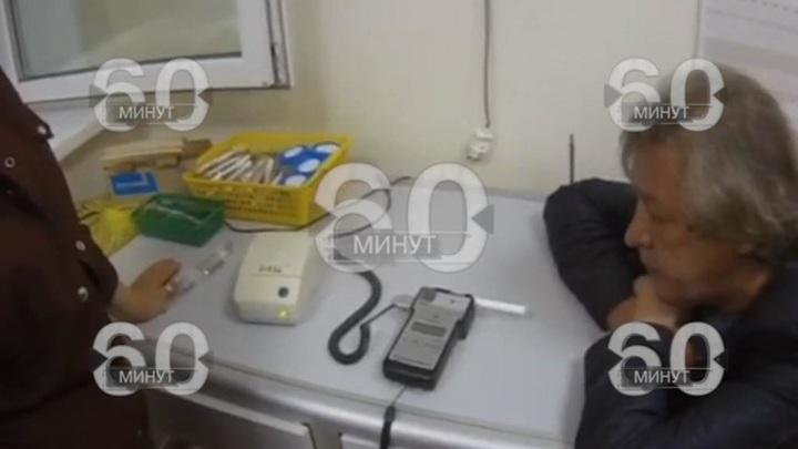 Попытка пьяного Ефремова дать взятку гаишнику попала на видео