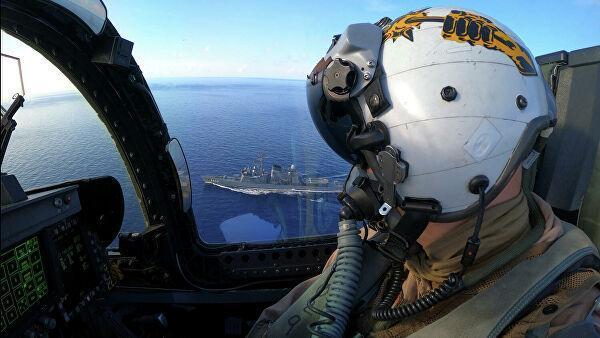 Военные учения США в Южно-Китайском море