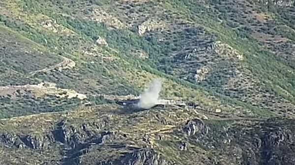 Обстрел вооруженными силами Армении Товузского района Азербайджана