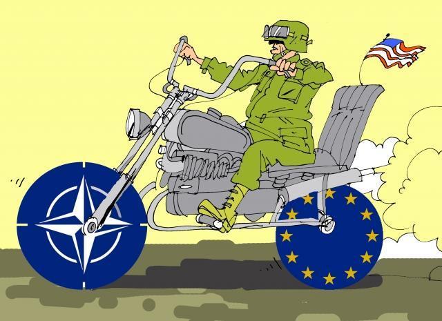 НАТО издыхает и вина за это в первую очередь лежит на США
