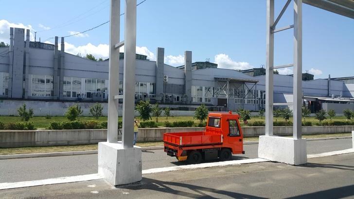 Производство электросамосвалов на Сарапульском электрогенераторном заводе