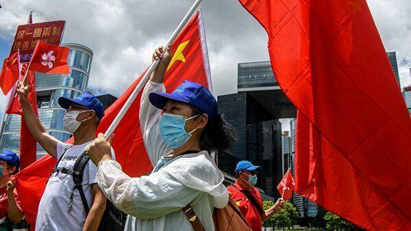 Протесты в Гонконге на фоне принятия закона о национальной безопасности