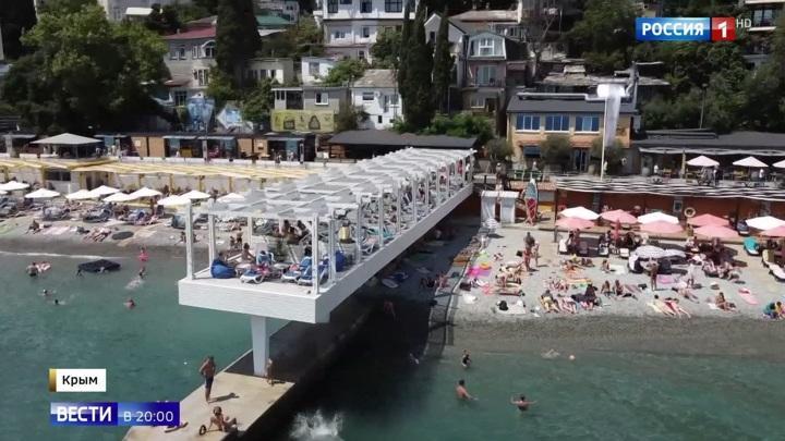 Крым стал самым популярным туристическим направлением. Курортный сезон в Крыму в самом разгаре