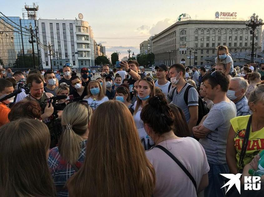 Хабаровск придется принять таким, какой он есть. Фото: Борис КОКУРИН