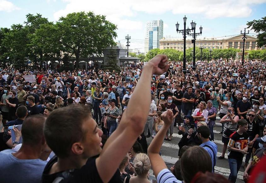 Хабаровск придется принять таким, какой он есть. Это не общегородская блажь. Не истерика. Фото: REUTERS