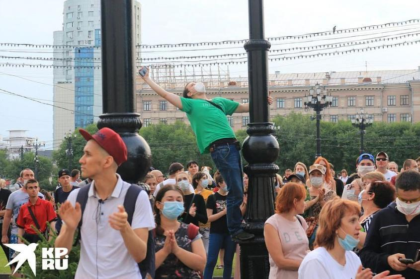 Хабаровск упрям, зол и последователен. Фото: Борис КОКУРИН