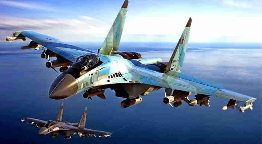Су-35 разогнал конкурентов в небе. Грозный аргумент завоевания превосходства в воздухе