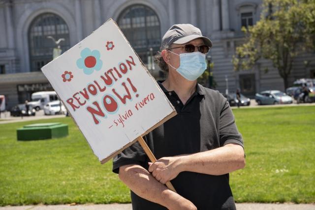 Протест в Сан-Франциско