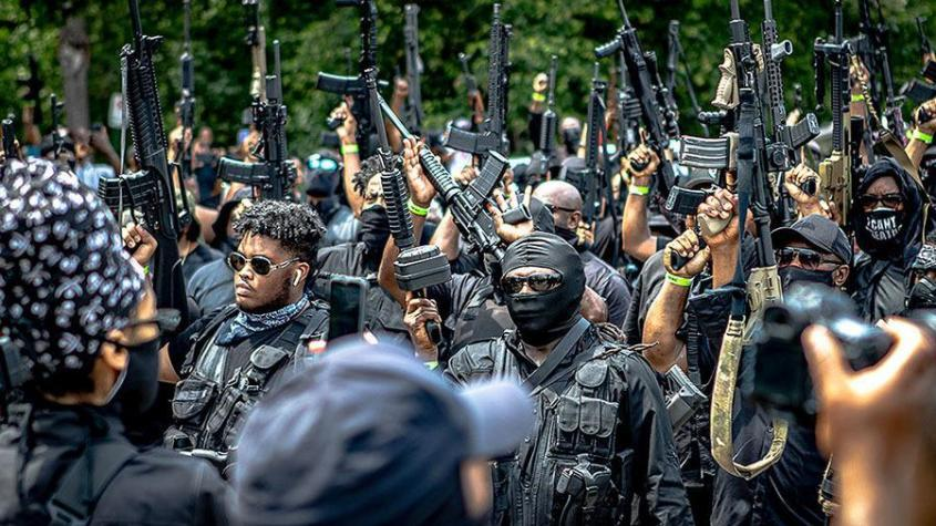 Глава радикального движения негров о насилии и отделении от США