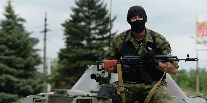 Ополченцы и укро-военные объединились в борьбе с бандитизмом под Донецком