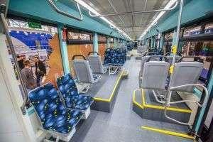 Запущен в промышленное производство односекционный четырёхосный низкопольный трамвай
