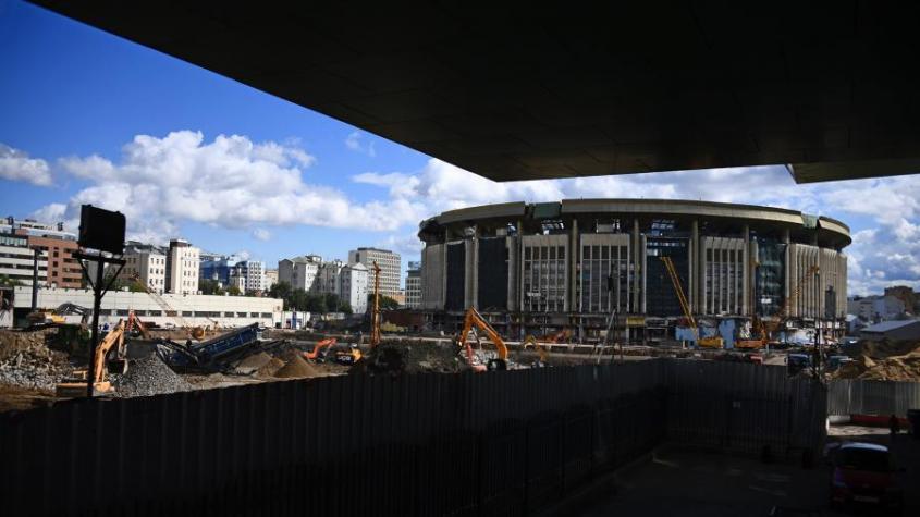 В Москве спорткомплекс «Олимпийский» «взрывают так мощно, что дома трясутся»