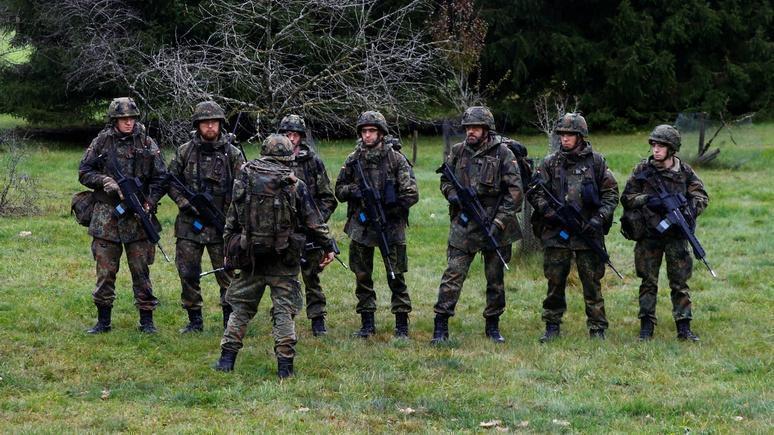 Zeit: в Германии «накрыли» интернет-канал военнослужащих, планировавших переворот