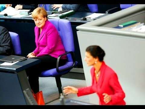 Сара снова добралась до горла Меркель!