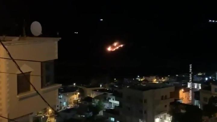 Террористический Израиль атаковал объекты на юге Сирии