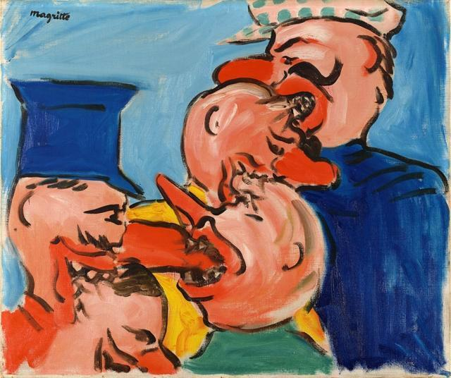Рене Магритт. Голод. 1948
