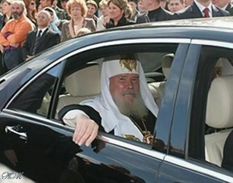 Кирилл Гундяев благословил игумению Феофанию продать свой Mercedes Benz S-класса