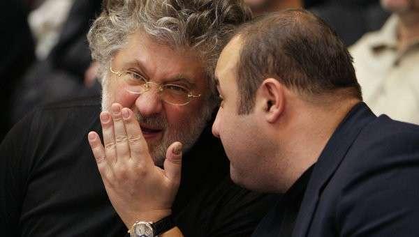 Бизнесмен Игорь Коломойский.Архивное фото.