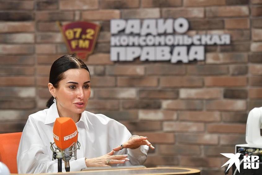 Телеведущая Тина Канделаки Фото: Иван МАКЕЕВ