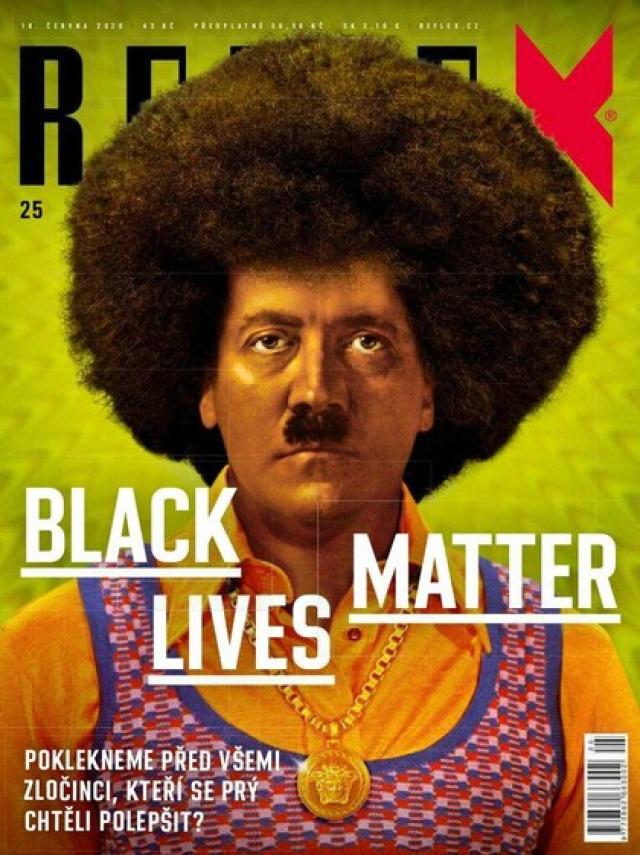 Обложка чешского еженедельника «Reflex»